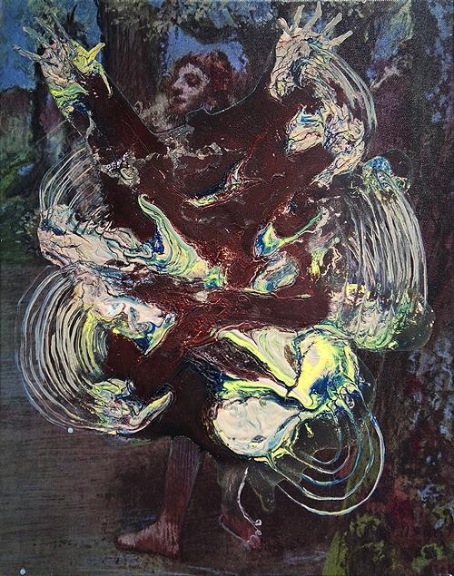 Coming out akryl na wydruku na płótnie, 50 x 40 cm 2013
