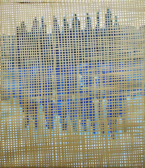 Cote d'Azur acryl on oil on canvas / akryl na oleju na płótnie, 50 x 60 cm 2013