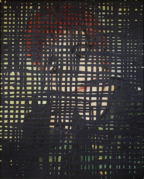 Devil is in the details / Diabeł tkwi w szczegółach acryl on oil on canvas / akryl na oleju na płótnie, 40 x 30 cm 2013