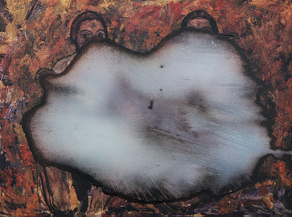 Widzieć więcej niż inni akryl na wydruku na płótnie, 30 x 40 cm 2012