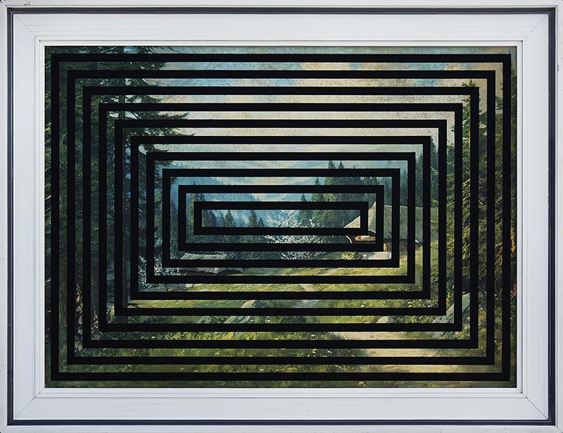 Coming out akryl na wydruku na płótnie, 50 x 40 cm 2016