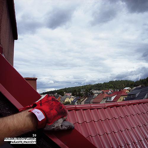 Builder - Budowlaniec - Art Sztuka - Work Praca - Project Projekt - Parasite / Pasożyt - note / notka 20