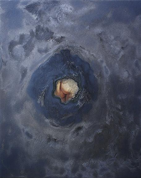 Putta/o akryl na płótnie, 30 x 40 cm 2013