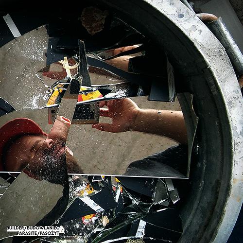 Builder - Budowlaniec - Art Sztuka - Work Praca - Project Projekt - Parasite / Pasożyt - note / notka 17