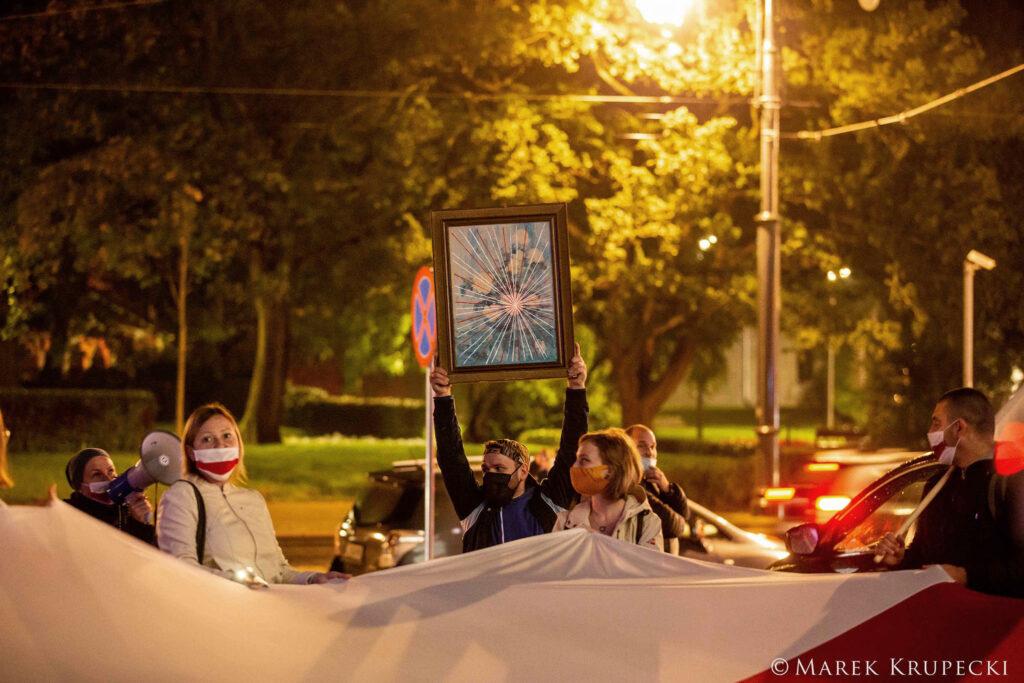 You go girl - Womens march for belarus - Torun - 10-10-2020 - fot. Marek Krupecki