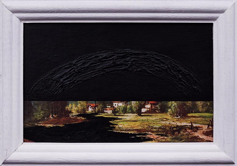 Krajobraz antropocenu (czarne niebo) / Anthropocene's landscape (black sky)