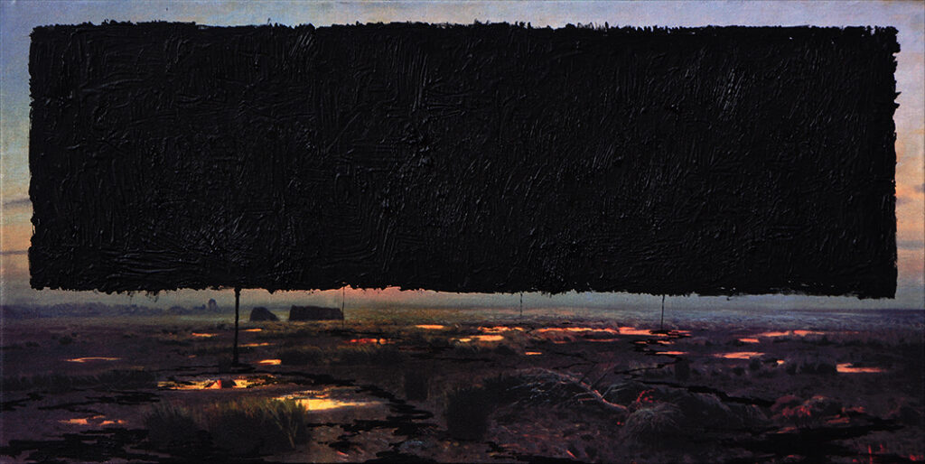 Krajobraz antropocenu (czarność) / Anthropocene's landscape (blackness)