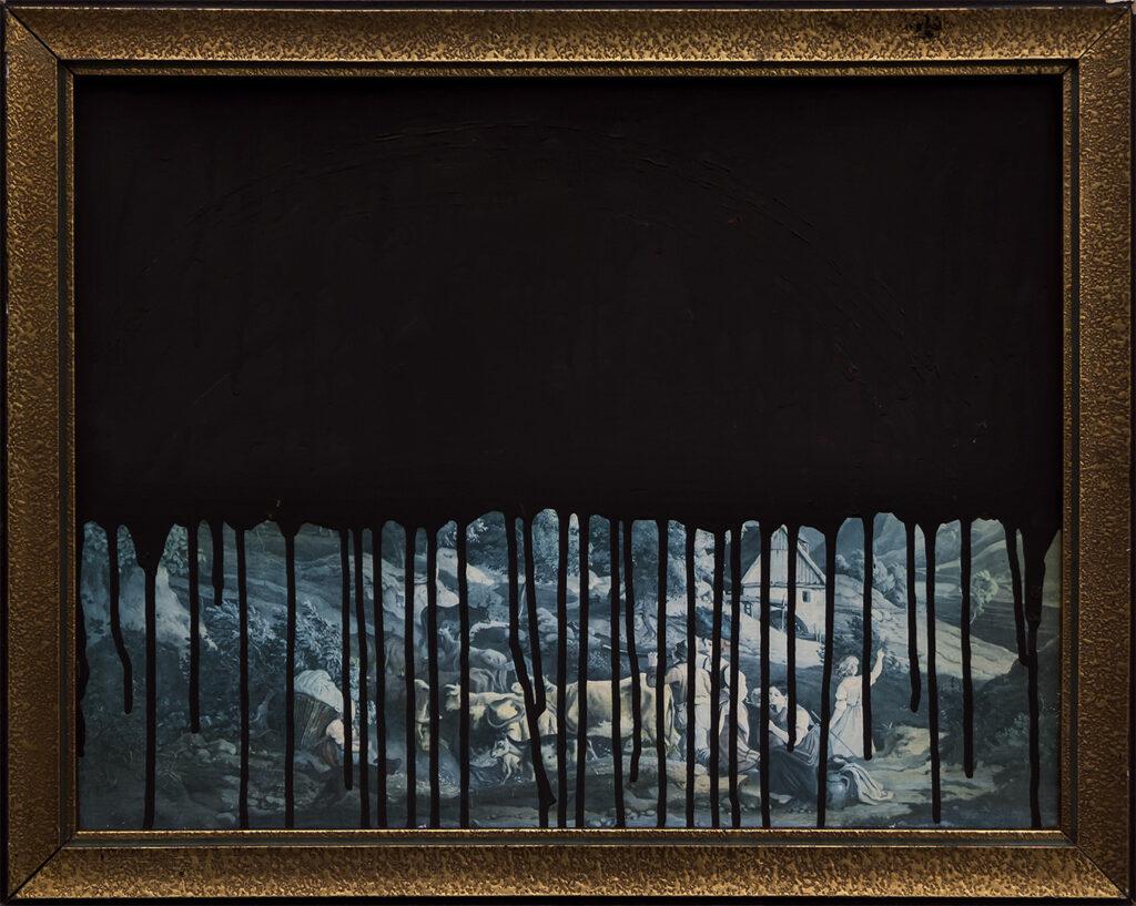 Krajobraz antropocenu (w czerni) / Anthropocene's landscape (in the black)