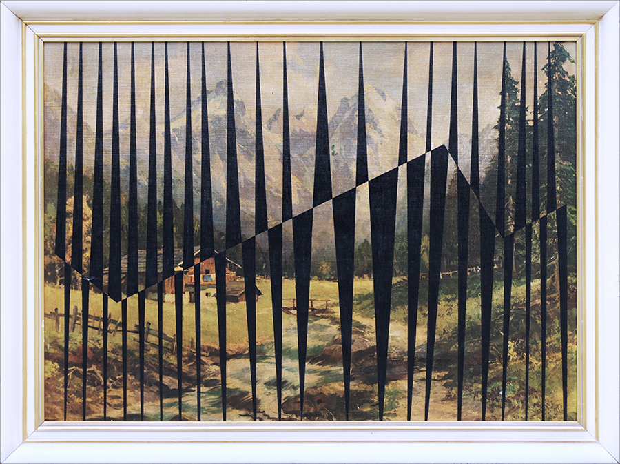 Czarny X (Berghof) / Black X (Berghof)