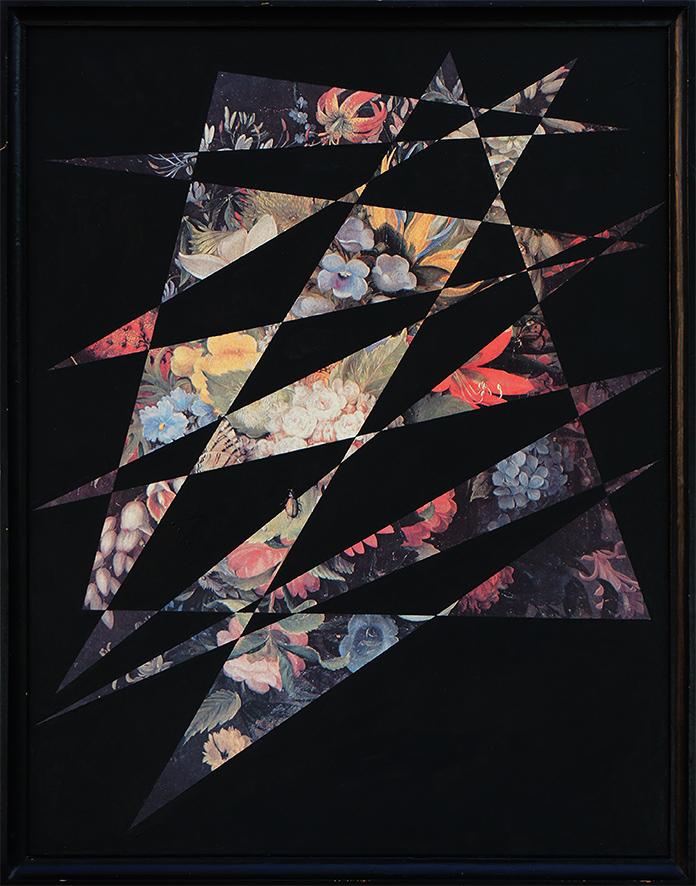 Czarny X (kwiaty w czerni) / Black X