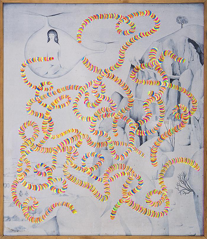 Tasiemiec malarski / Painting tapeworm