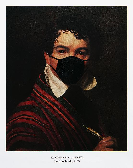 pasozyt-parasite--malarstwo-painting-card--Middle-Class-COVID-19-Traveler---2020