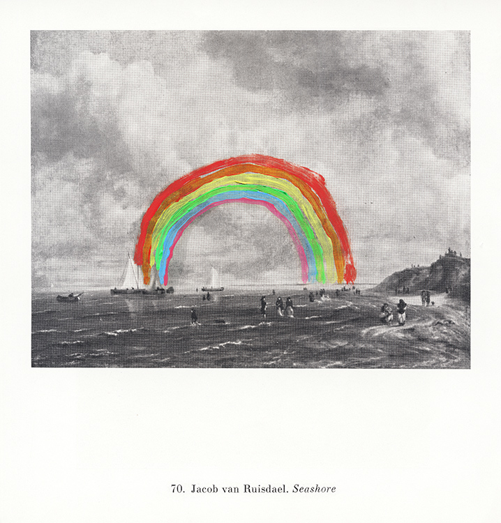 pasozyt-parasite--malarstwo-painting-card--rainbow-seashore---2020
